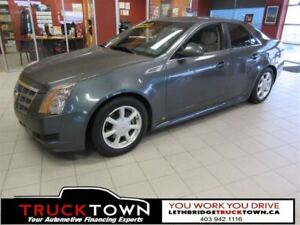 2008 Cadillac CTS LOW KMS-HEATED LEATHER SEATS