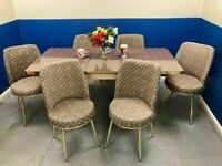 👌👌FRESH ARRIVAL SALE 😍😍ON LOUIS VUITTON EXTENDABLE DINING TABLE AND 6 CHAIRS