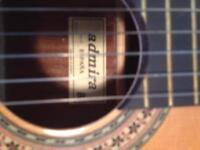 Admira Spanish Guitar with case