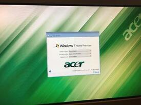 Acer all in one touch screen PC