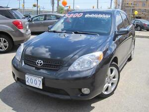 2007 TOYOTA MATRIX XR | 5 Speed • Only 70KM On Eng