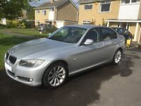 Silver BMW 318SE - Diesel, low mileage, excellent condition, 1 previous owner from new