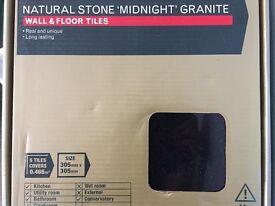 Black Granite Tiles Brand New