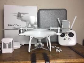 New DJI phantom 4 4K Drone quadcopter