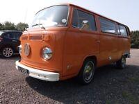 VW T2 Campervan, 1972