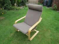 Ikea Poang Armchair.