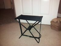 Folding packable stool