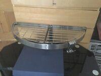 wall mounted stainless steel saucepan rack