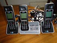A set of 3 BT6500 phones,