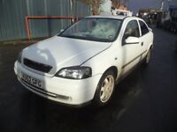 1999 Vauxhall Astra 2.0 Petrol 3 Door Hatchback in White Colour. Mileage is 79K with 5 Months MOT