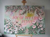 Original Acrylic Christian Painting