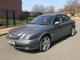 VERY LOW MILEAGE JAGUAR X-TYPE SPORT D LEATHER ALLOYS DRIVE AWAY TODAY**