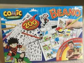 Beano Comic Maker kit (sealed)
