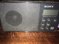 Small Sony Dam Radio