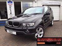 2005 55 BMW X5 3.0d AUTO SPORT~LOW MILES~FSH~2 KEYS~