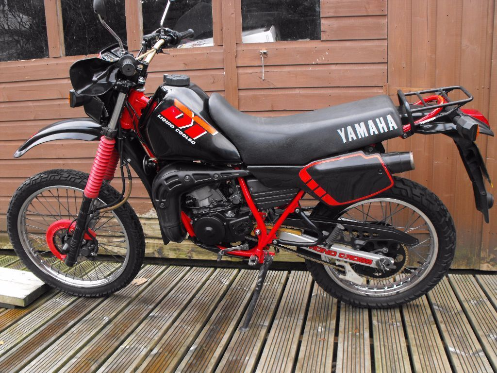 yamaha dt 125 lc dtr low miles full power ypvs px and. Black Bedroom Furniture Sets. Home Design Ideas