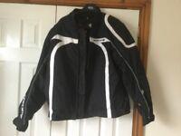 Mans motorcycle jacket