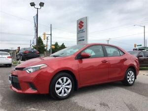 2015 Toyota Corolla LE ~RearView Camera ~Heated Seats ~Solid Val