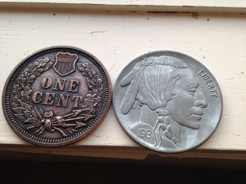 Large Coins American Vintage Replica Coins | in Southside, Glasgow | Gumtree