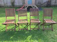 4 x John Lewis outdoor chairs - £39