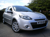 RENAULT CLIO TOMTOM EDITION 1.1 PETROL *12 MONTHS MOT * Full service history * 6 Months WARRANTY *