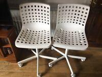 2 x Swivel Chairs