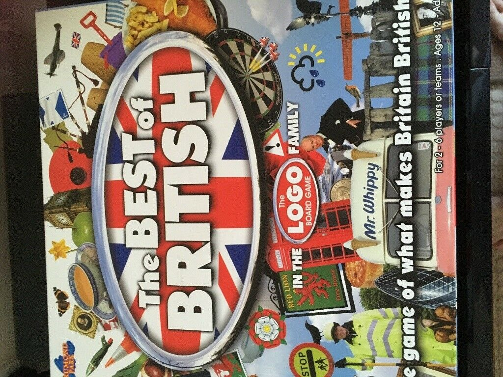Logo Best of British Board Game & Lego Grab Game