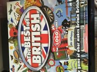 Logo Best of British Board Game & Lego Grab Game