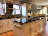 Large used craftsman-built kitchen
