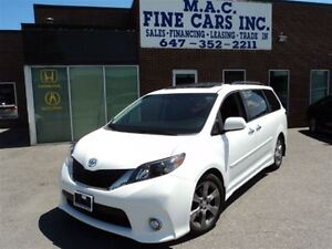 2013 Toyota Sienna SE 8 PASS - SUNROOF - REAR CAM