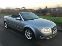Audi A4 convertible s line, private plate, 2.0 diesel, low mileage, leather seats