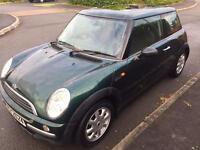 2002 Mini 1.6. MOT'd and low miles
