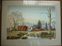 ANDREW FINDLAY - 3 Original watercolour paintings (priced individually)