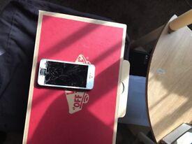 iPhone 5s spares or repair unlocked iCloud cleared