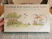 Guess How Much I Love You book and writing set