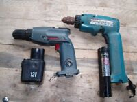 Old Cordless Drills. - Spares or Repair