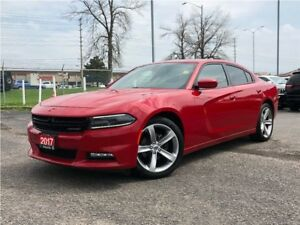 2017 Dodge Charger SXT**LEATHER**SUNROOF**NAV**BACK UP CAM**