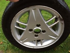 Ford Escort SI alloy wheel