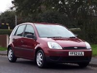 Ford Fiesta 1.3 Finesse 5dr£799 p/x welcome LONG MOT,LOW TAX & INSURANCE