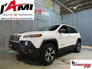 2017 Jeep Cherokee Trailhawk V6 3.2 GPS CUIR