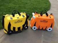 Trunki Bernard Bee & Tipu Tiger £25 each