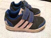 ## Adidas size 10 boys trainers ##