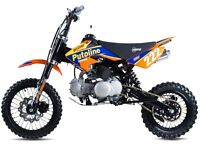 STOMP 120 KIDS CHILD ADULT OFF ROAD MOTORCYCLE PIT BIKE