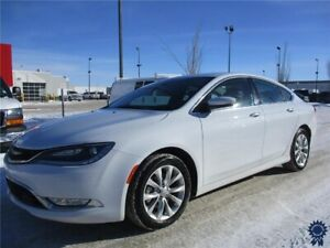 2015 Chrysler 200 C 5 Passenger Front Wheel Drive, Backup Camera