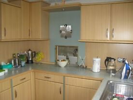 Kitchen units for sale including appliances