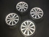 VW ALLOYS AND TYRES*BARGAIN**