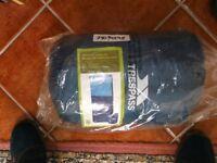 Brand New Tresspass 500g/sm & 400g/sm envelope sleeping bags