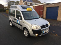 2008 fiat doblo dynamic m-jet 120bhp 180k taxi just come off rank taxed n tested £1095 ovno