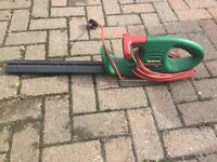 Qualcast hedgemaster hedge trimmer 5 year old
