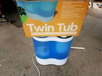 Portable twin tub